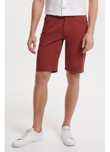 Lee Cooper Şort Bordo